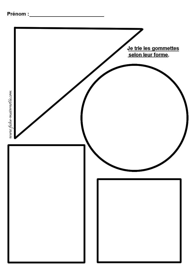 Coloriage figure geometrique maternelle - Coloriage des formes geometriques ...
