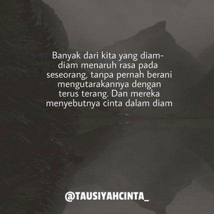 24+ ideas quotes indonesia cinta dalam diam
