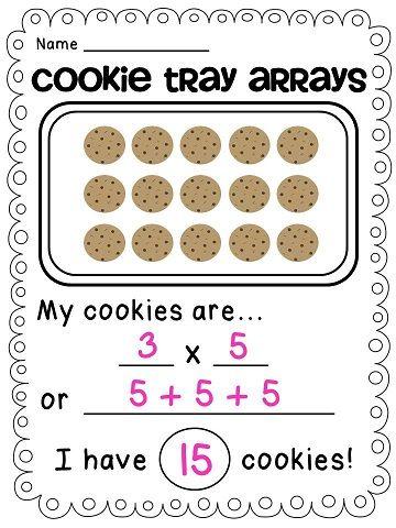 Arrays Arrays Arrays With Images Math Activities Elementary