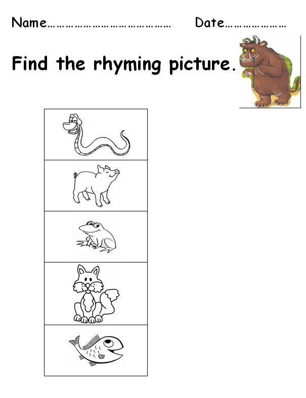 Gruffalo Worksheets High Medium And Lower Ability Literacy