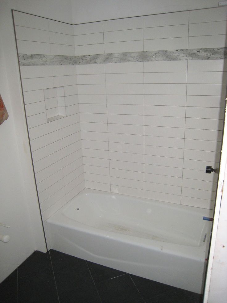 Image result for long tiles for bathrooms | Subway tile ideas ...