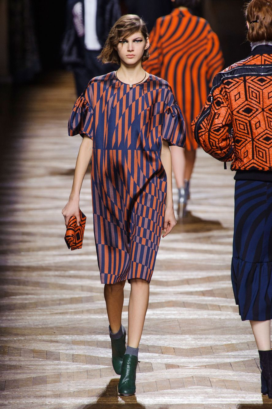 b8992b83 Dries Van Noten | Silhouettes and Looks F14 | Fashion, How to wear, Vans