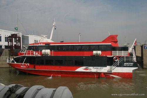 Hong Kong-Macau TurboJET ferry - http://www.macau-mega.com/hong-kong-macau-turbojet-ferry-2/