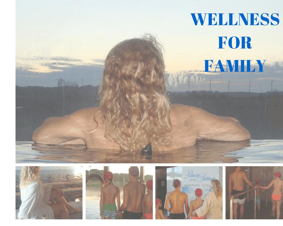 WELLNESS FOR FAMILY Cuidarse en un lugar como éste y además hacerlo en familia y disfrutar tanto, es siempre un buen Plan. En el Balneario El Palacio de las Salinas en Medina del Campo, Valladolid...