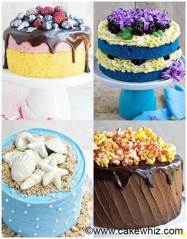 This Is A Collection Of Lots Of Easy Cake Decorating Ideas For