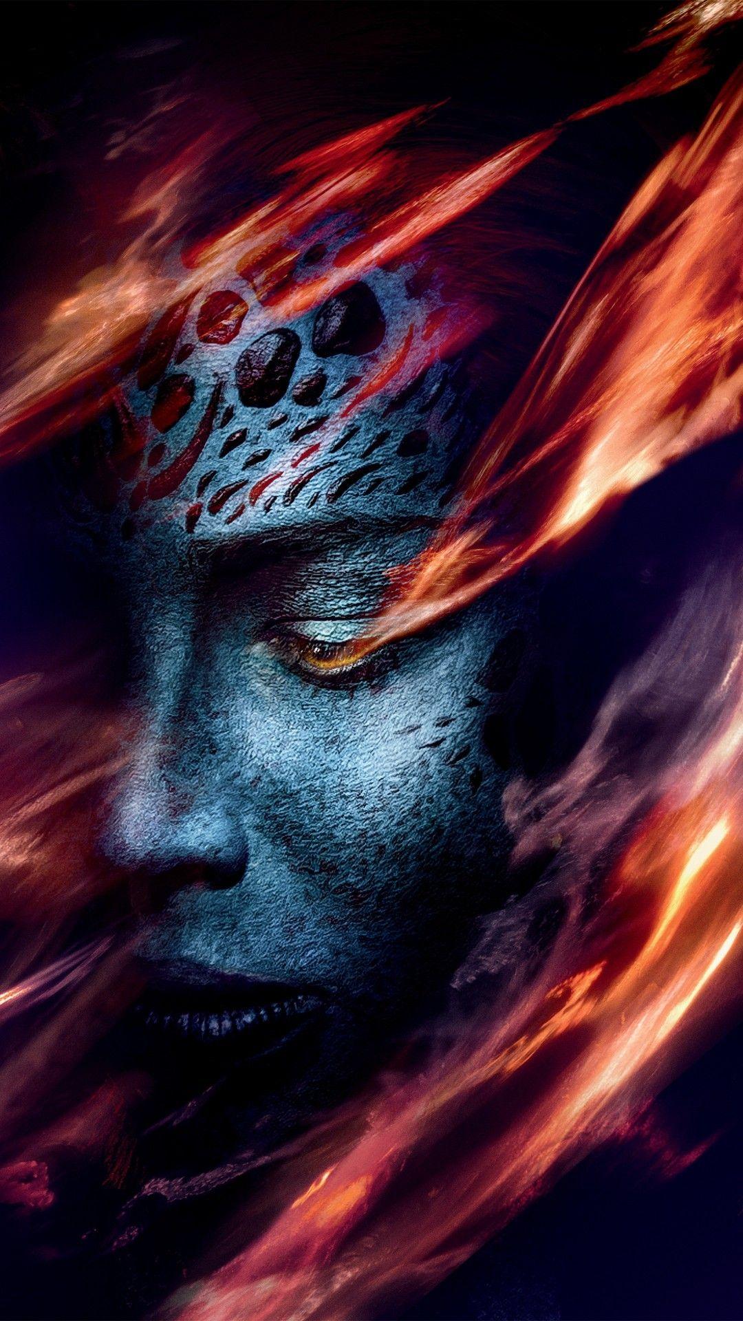 Dark Phoenix Cell Phones Wallpaper Dark phoenix, X men