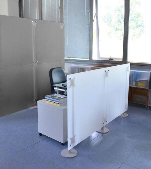 Burotrennwande Sichtschutz Am Arbeitsplatz Und Schreibtisch