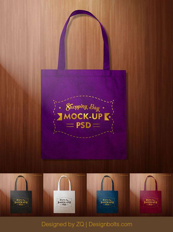 Download Free Simple Black Shopping Bag Mock Up Psd File Bag Mockup Bags Psd