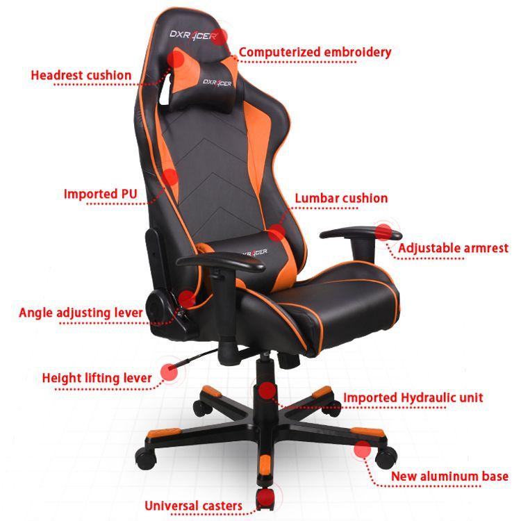 Dxracer Fe08 No Computer Chair Xrocker Office Chair Sports Chair Gaming Chair Uncategorized Dxracer Sport Chair Gaming Chair