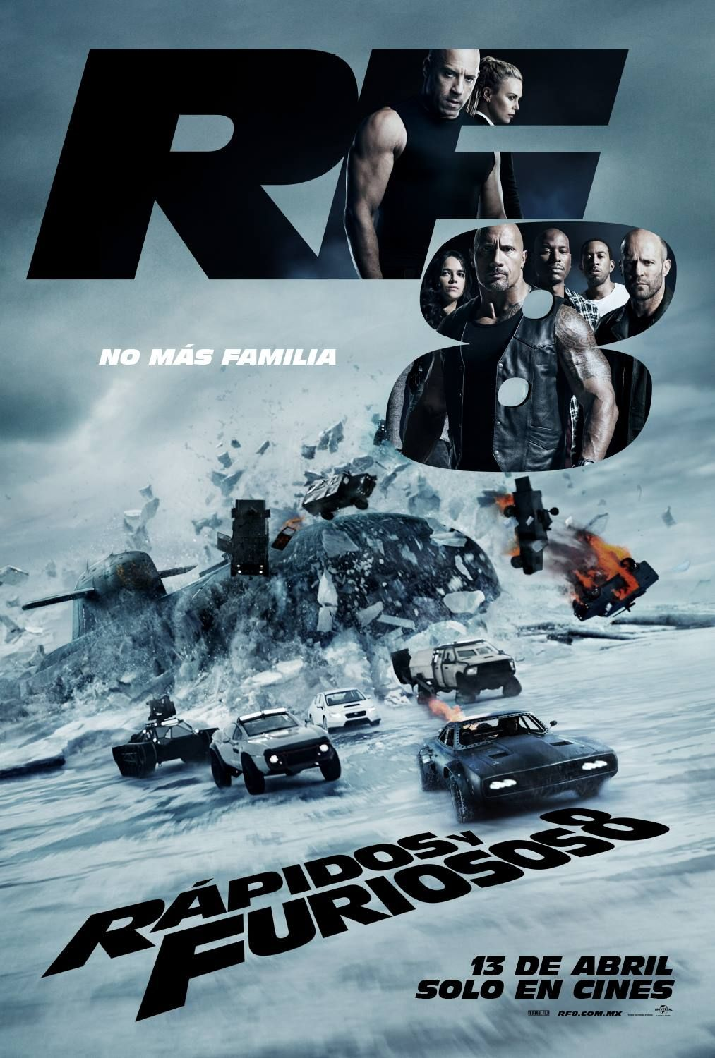 Rapido Y Furioso 8 2017 Fate Of The Furious Fast And Furious Full Movies