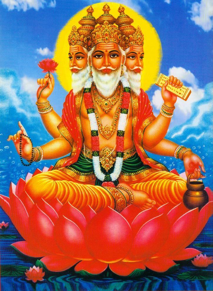 Brahma dios creador hinduismo personajes inolvidables - Principios del hinduismo ...