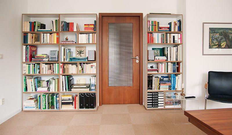 Regalsystem Wohnzimmer ~ Passgenaues regalsystem bücherregal stocubo bücherregal