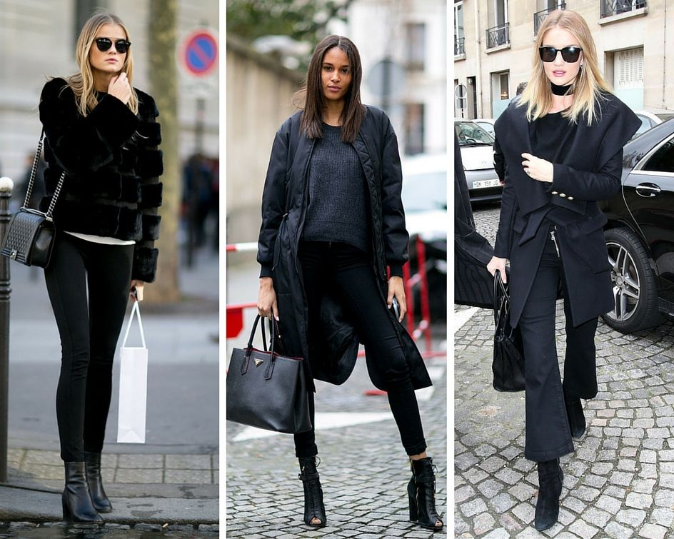 10 All-Black Outfits That Are the Epitome of Effortless Chic | Closetful of Clothes