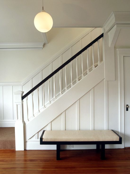 Image Result For Stair Wall Trim Ideas