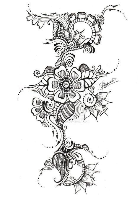 16++ Tatouage encre de chine inspirations