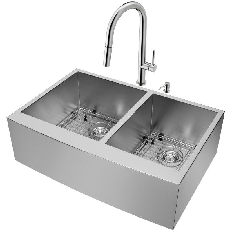 This Vigo All In One Kitchen Sink Set Brings Added Convenience To