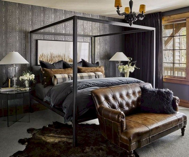 16 Classy Rustic Bedroom Designs: 27+ Comfy Rural Farmhouse Master Bedroom Ideas