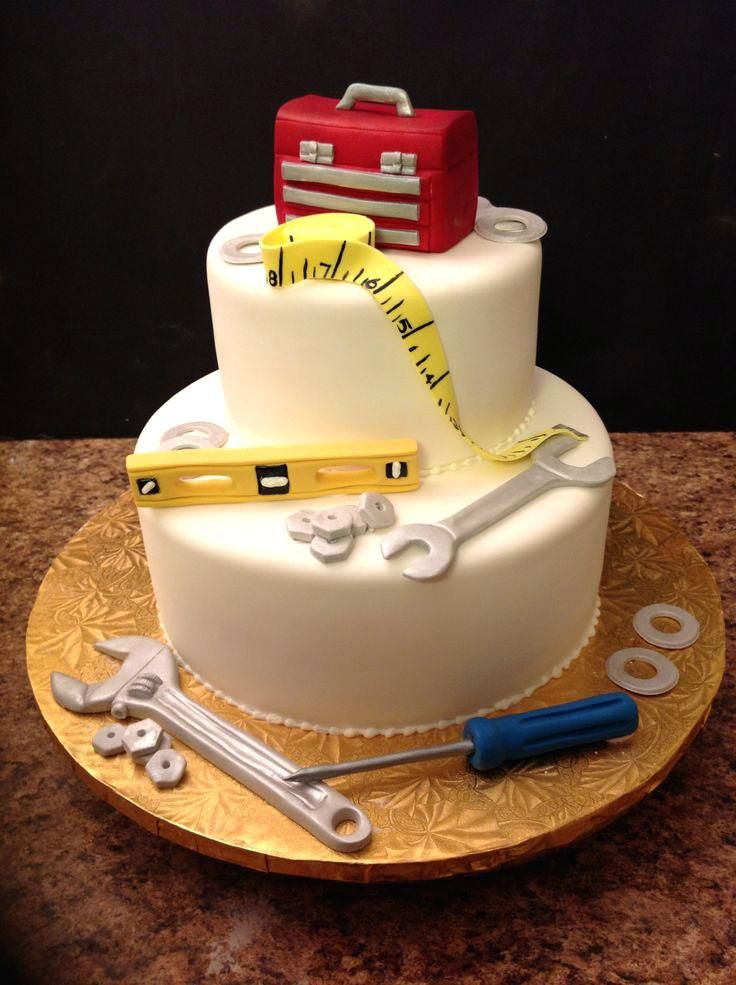 Birthday Cake Toppers For Men Pin Mechanic Corvette Wedding Cake
