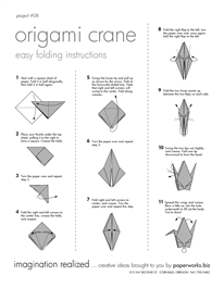 image about Origami Crane Instructions Printable referred to as origami cranenice printable guidelines A Chaos of