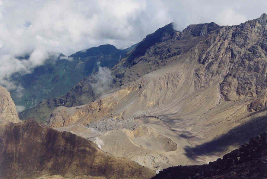 Crater del Volcán Guagua Pichincha