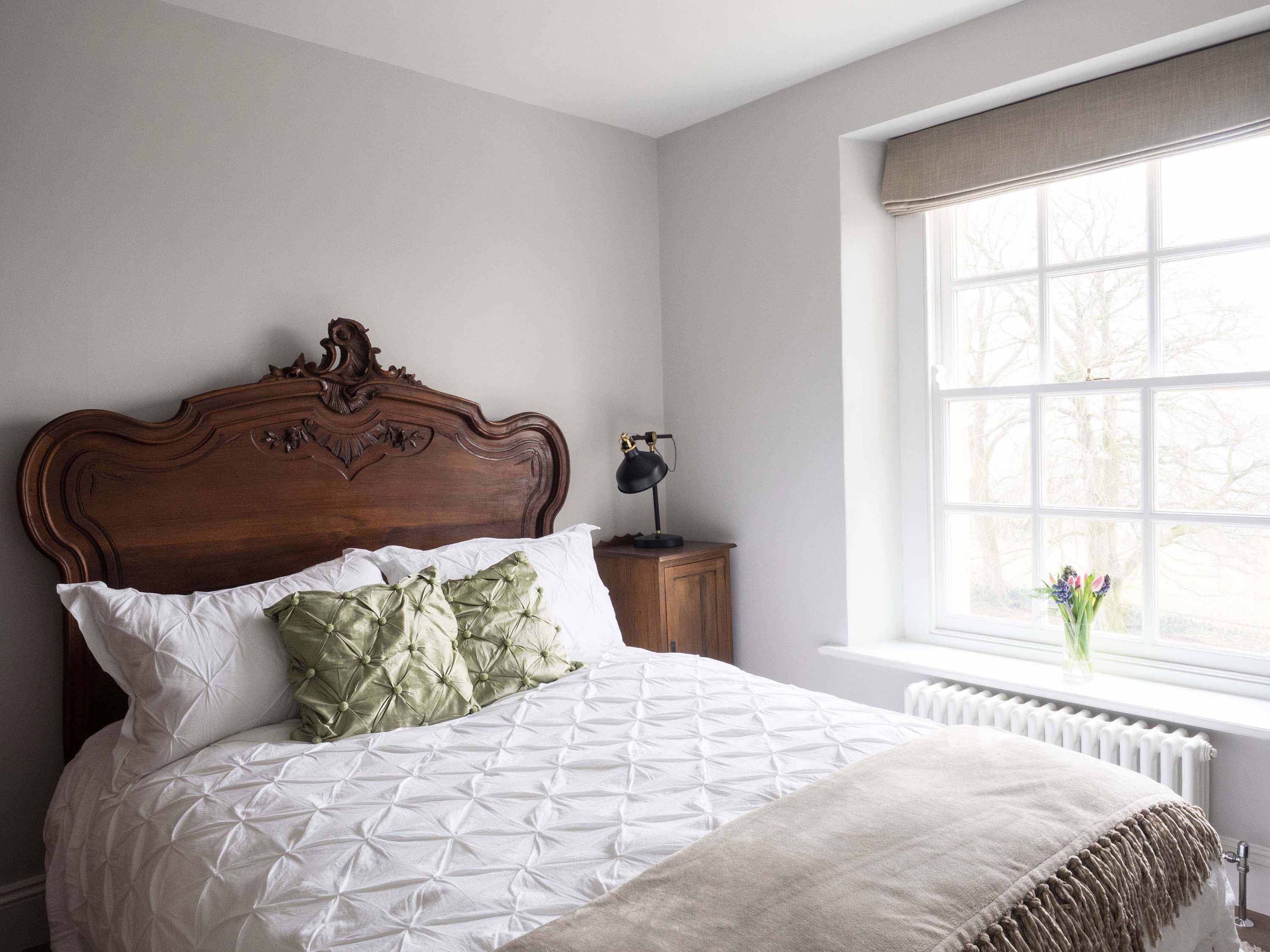 guest bedroom  french style bedroom country interior