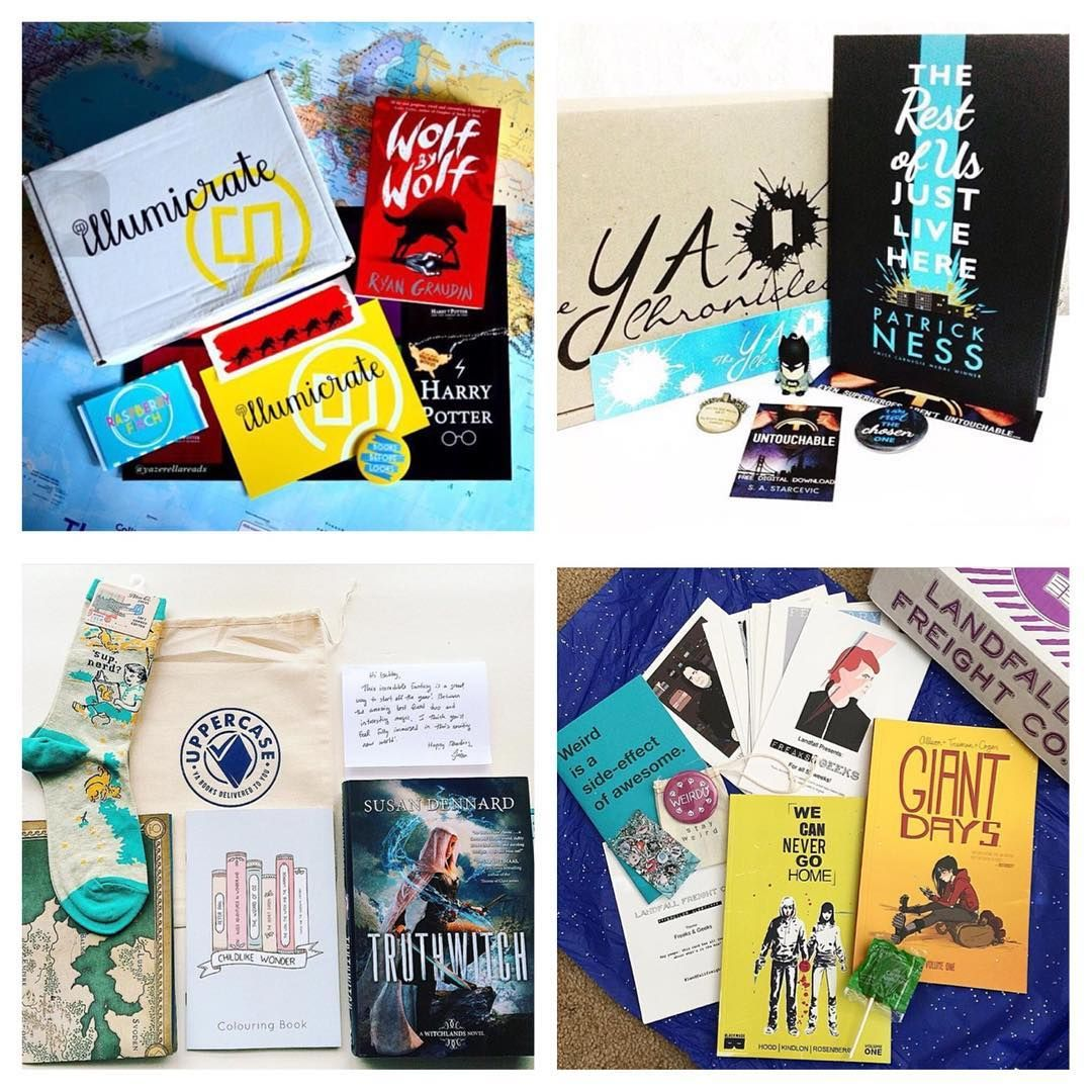 Owlcrate On Instagram We Wanted To Take A Second To Give Some Shout Outs To Other Amazing Book Subscriptio Book Subscription Box Book Subscription Good Books