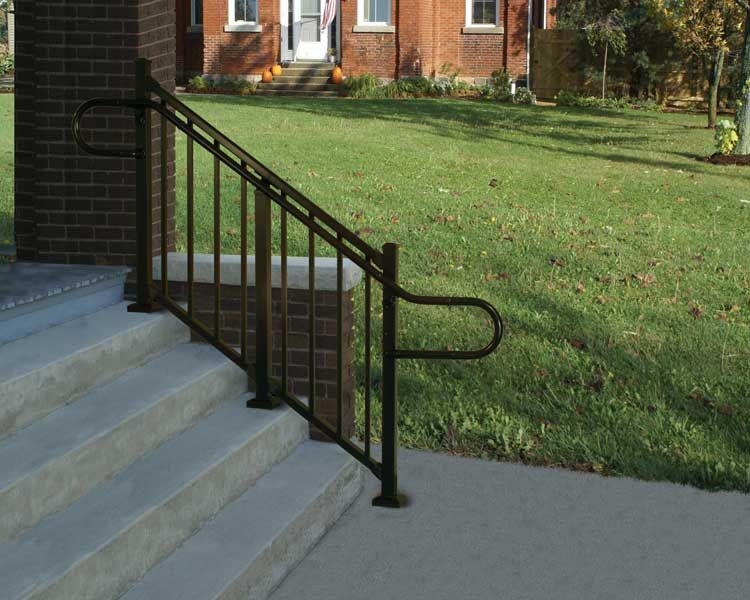 Best Westbury® Aluminum Continuous Handrail Is An Ada Compliant 400 x 300