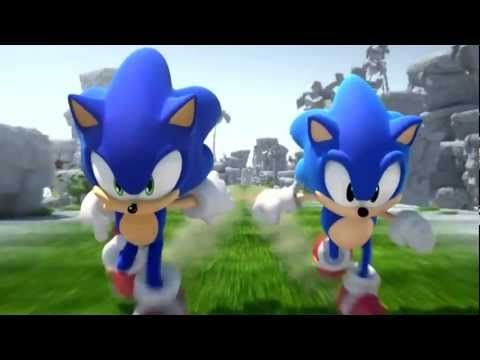 SONIC: Escape from the City ~Classic Remix~ (Music Video) [With