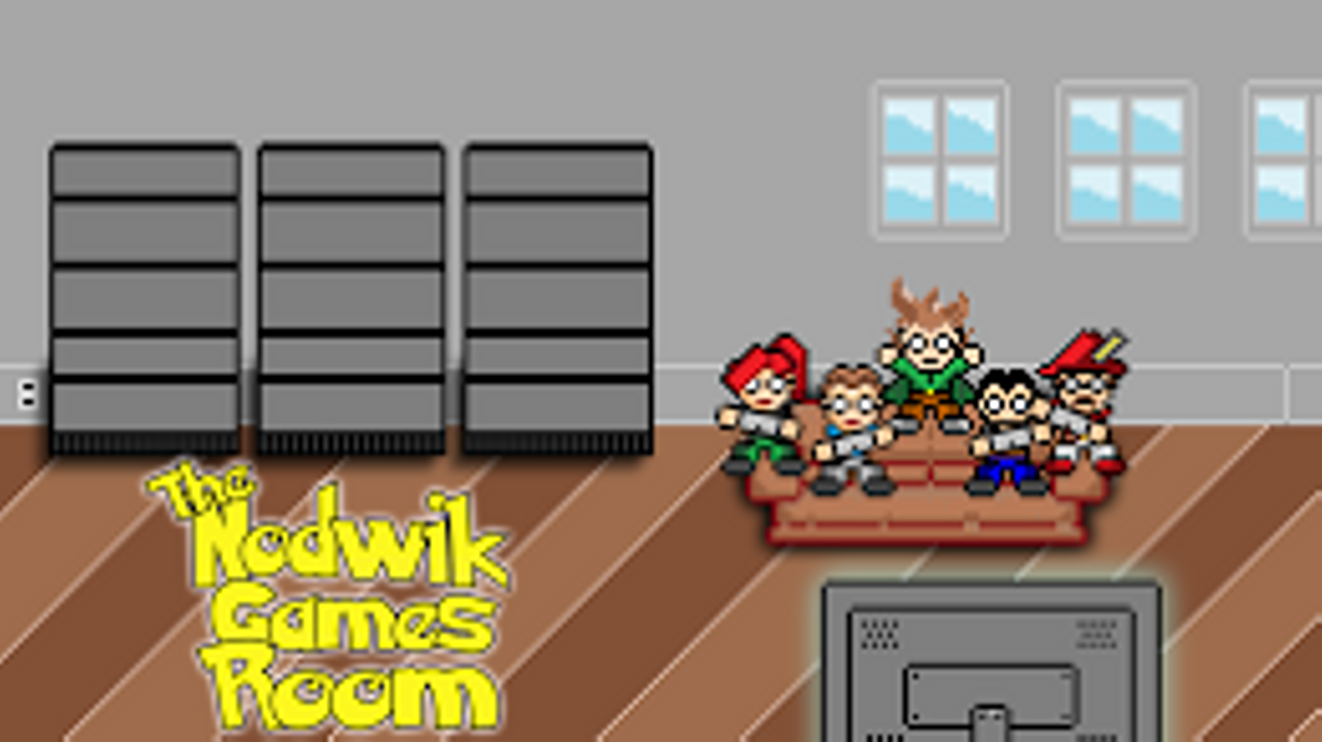 The Nodwik Games Room is creating Let's Plays and Pop