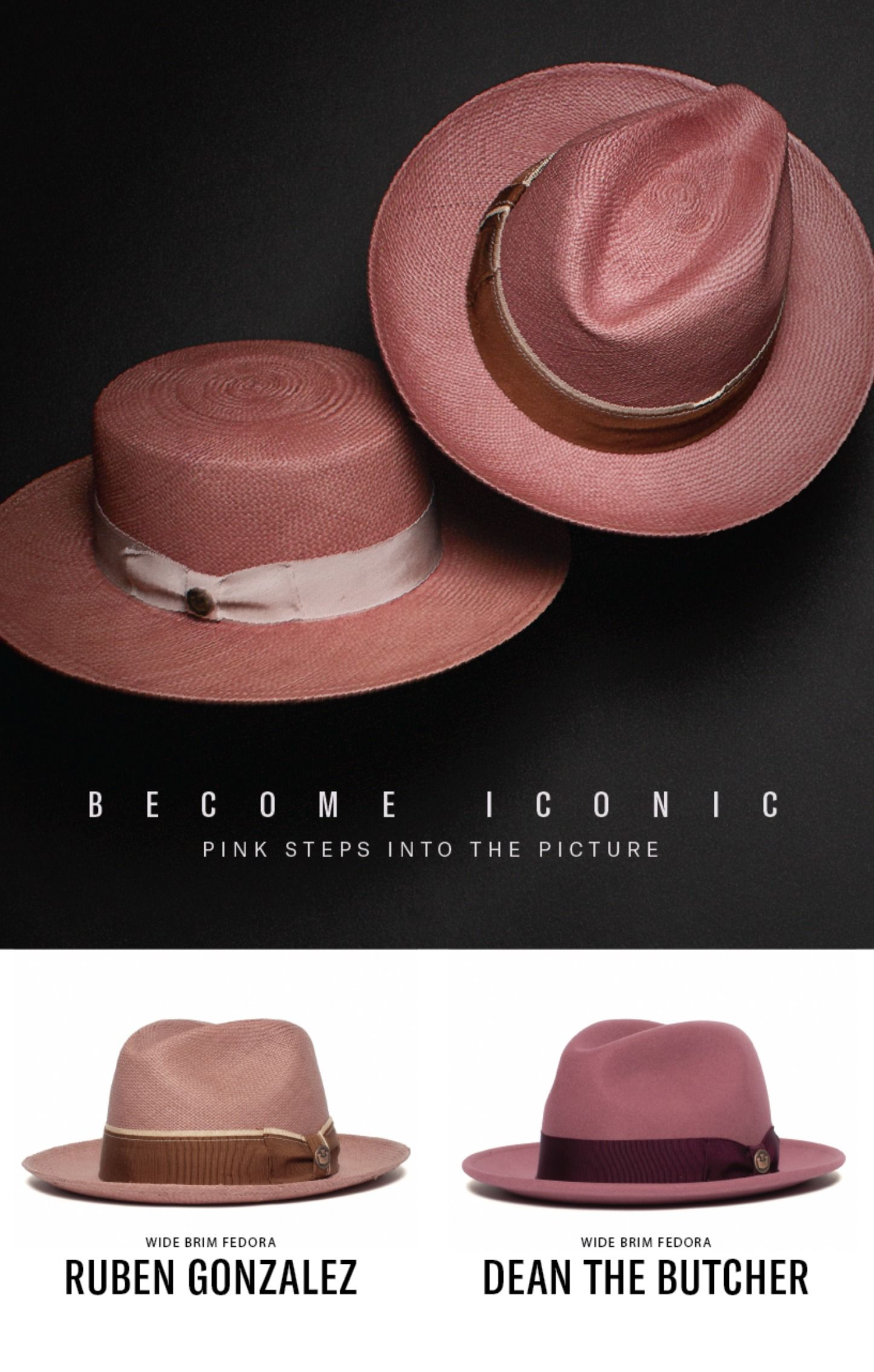 7b7a1e3a1b05af Spring 2019 Collection bringing the hat heat in pink. | Goorin ...