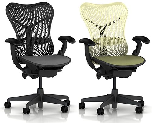 1 mirra chair by herman miller fully featured adjustable arms