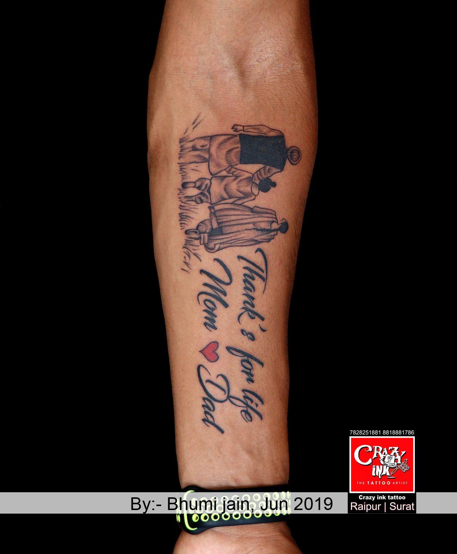 Crazy Ink Tattoo Dad tattoos, Tattoo for son, Tattoos