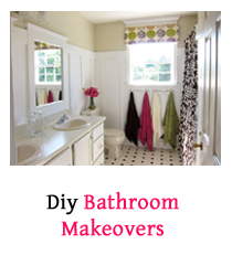 Many People remodel many rooms in their homes every year, including bedrooms, kitchens, and bathroom. Therfore, Bathroom Makeovers are so important , and you might need to take time to think about the look of your bathroom before you decide what to do first. A Bathroom Makeover can be done fast and without spending much money, you Just have to organize your Job into simple and numbered small tasks.