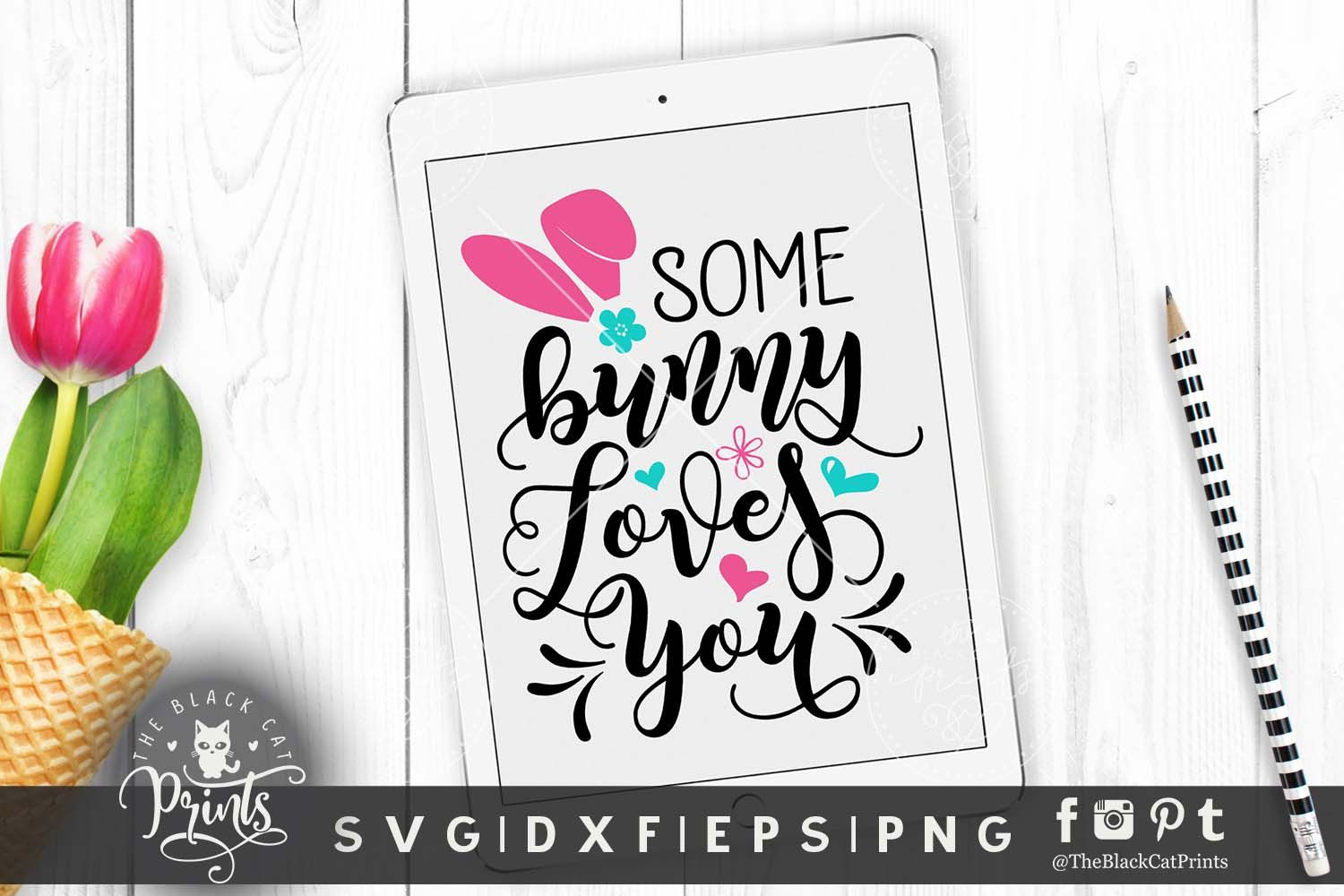 Download Some bunny loves you SVG DXF PNG EPS   Some bunny loves ...