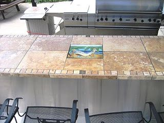 Tile Bar Top