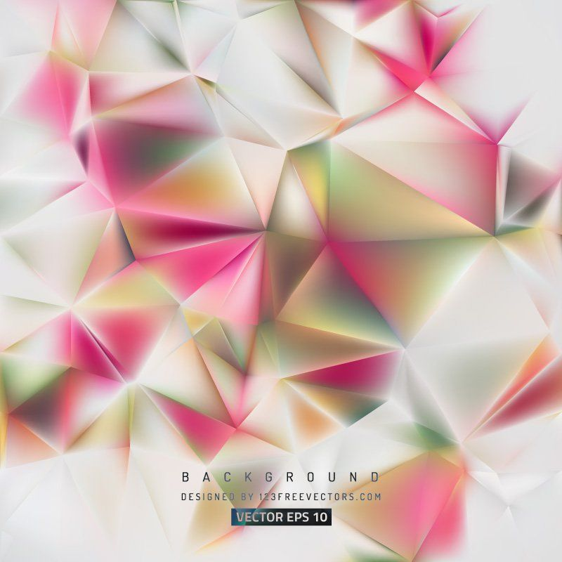 Abstract Polygon Background Template #freevectors
