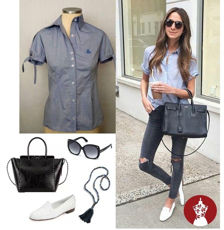 Camisa Amanda, disponível do 36 ao 46 #camisariafeminina #ootd #modaexecutiva #linda no trabalho