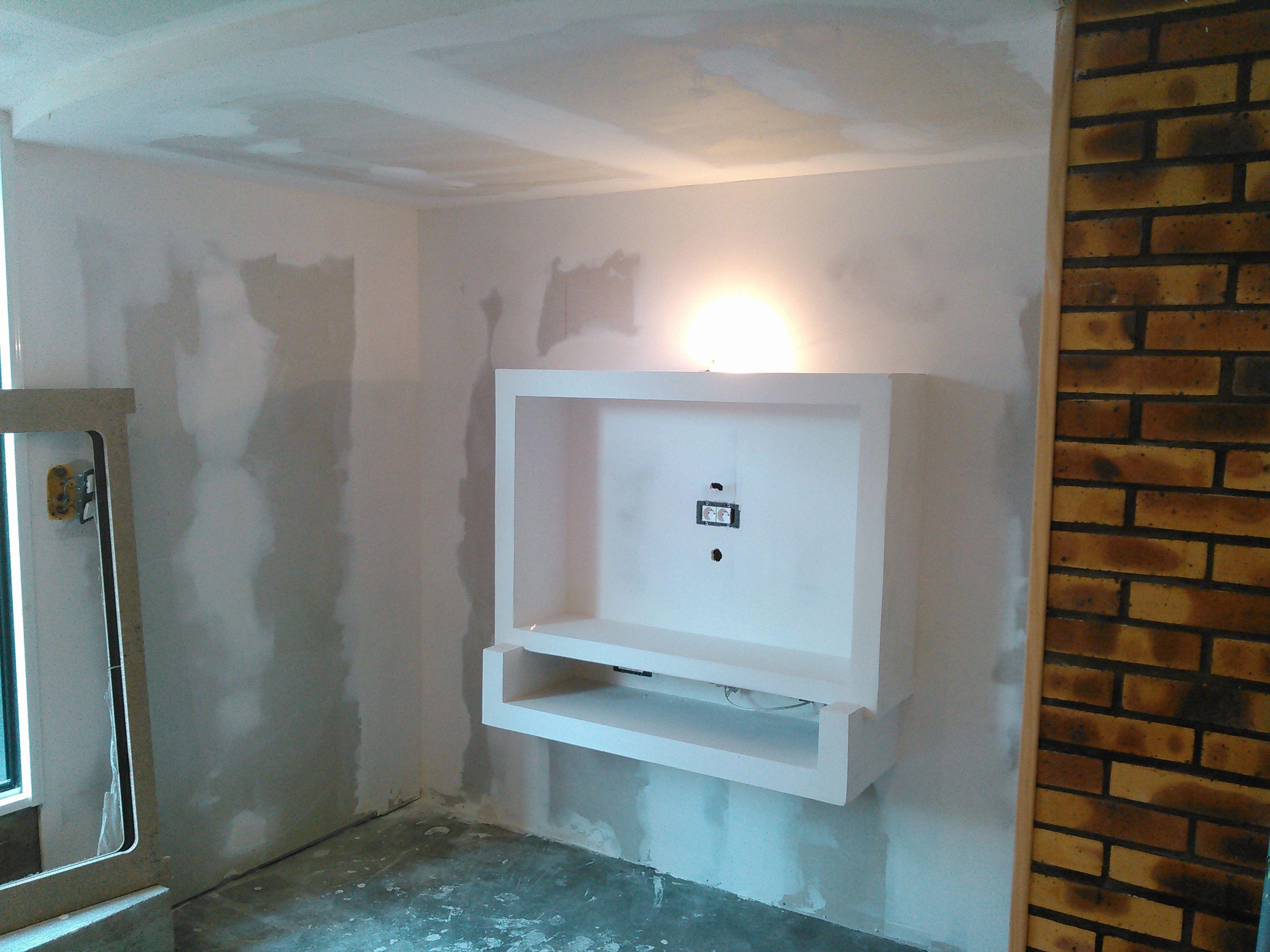 Awesome Fixation Tv Placo   Ceiling design bedroom, Bathroom ...