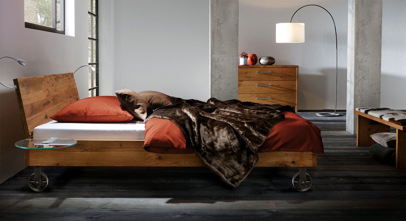 Bett Santo Bett Bett 140x220 Und Massivholzbett