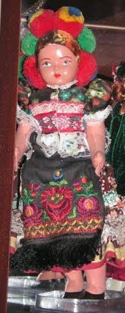 Mezokovesd area  Doll representing the Matýo peop