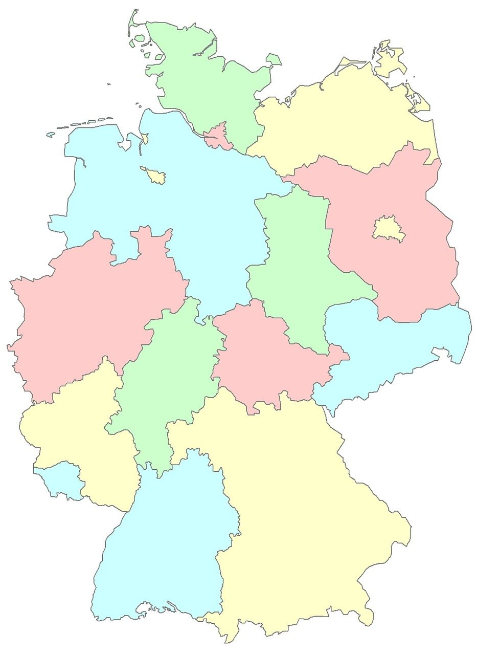 germany germany lnder regions germany germany map germany germany lnder