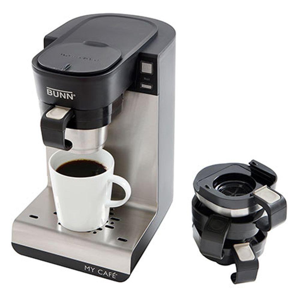 Bunn My Caf C Single Cup Coffee Brewer Walmart Com Single Cup Coffee Maker Single Serve Coffee Makers Bunn Coffee Maker