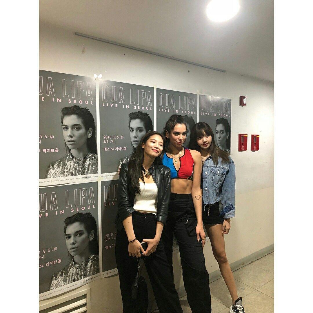 Dua Lipa Kiss And Makeup: @blackpinkofficial Instagram Update With Jenlisa & Dua