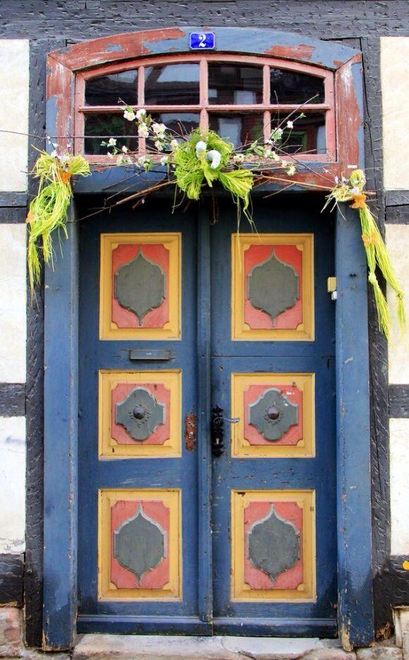 Thuringia Germany Unique Front Doors Beautiful Doors Cool Doors