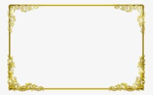 Background Frame Png Clipart Borders And Frames Clip Gold Certificate Border Png 604968 Gold Frame Frame Gold Border