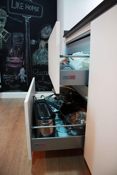 Micro cocina americana #diseño de #cocinas. #linea3cocinas #madrid ...