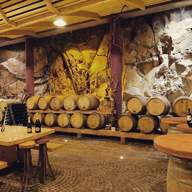 A #VillaCorniole i vini affinano nella barricaia scavata nel porfido della#Valdicembra in #Trentino #Wine #barrique #porfidotrentino #winelover #Wine#Winecellar #mountainwine #Dolomiti #dolomitewines #instawine #instatrentino #Wineporn #vinotrentino #vino #stradavinotrentino #sparklingwine #wineawards #donnedevino #donnedelvinotrentinoaltoadige #cheers #visitvaldicembra