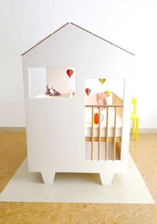 Un conjunto de cómoda y cuna muy original | Pinterest | Cunas para ...