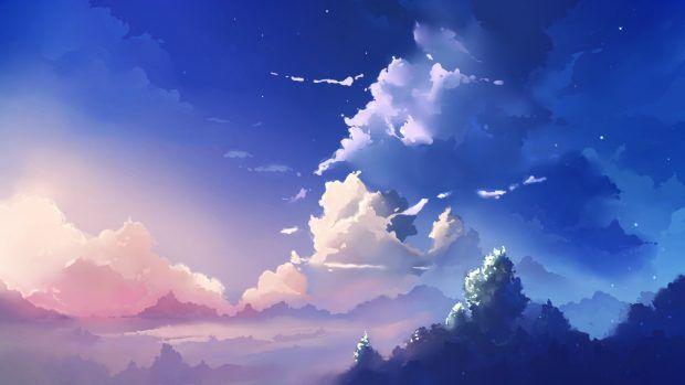 Sky Wallpapers Hd Anime Scenery Wallpaper Anime Backgrounds Wallpapers Anime Scenery