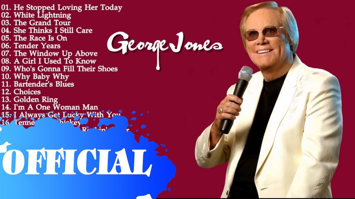 George Jones Greatest Hits    Best Songs Of George Jones   Real HD/Mp3 A...
